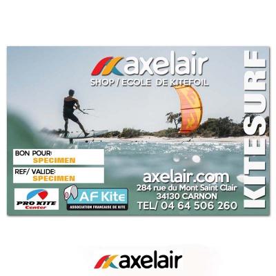 Axel'Air Bon pour un cours de Kitefoil 2021 2021