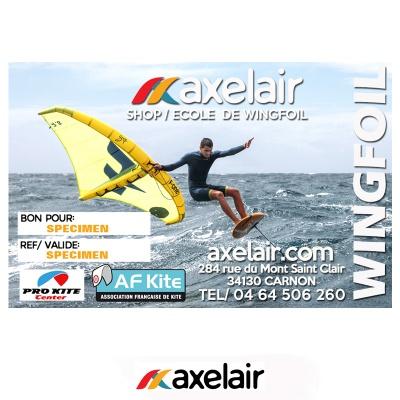 Axel'Air Bon pour un cours de Wingfoil 2021 2021