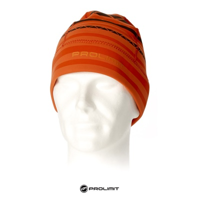 Prolimit Bonnet Neoprene Beanie Stripe orange 2017 2017