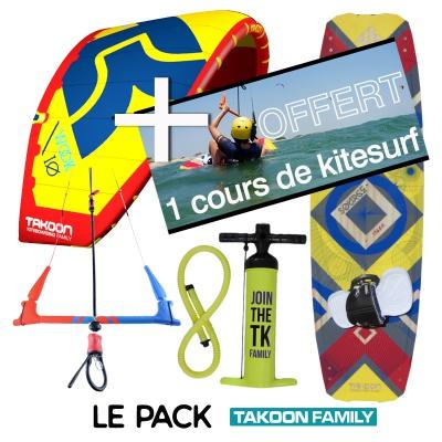 Takoon Pack kitesurf Takoon+cours 2018