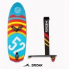 Pack Foil Carbon alu + board Freeride Sroka V3