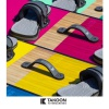 Platine PACK pads-straps Lunar Takoon grey